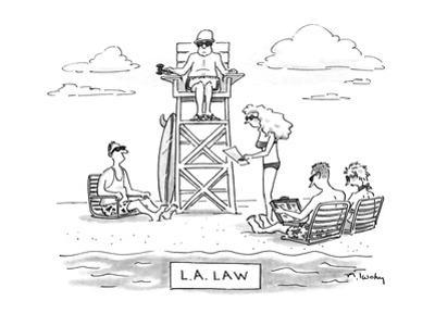 L.A. LAW - New Yorker Cartoon by Mike Twohy