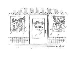 Wikileaks Travel - Cartoon by Mike Twohy