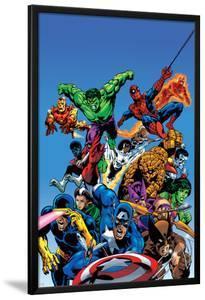 Secret Wars Cover: Captain America by Mike Zeck