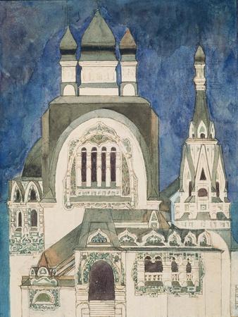 Unrealised Design for a Church at Talashkono, 1899