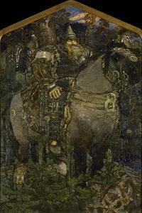 Bogatyr, 1898 by Mikhail Alexandrovich Vrubel