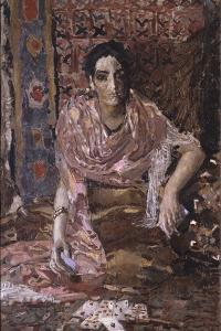 Fortune-Teller, 1895 by Mikhail Alexandrovich Vrubel