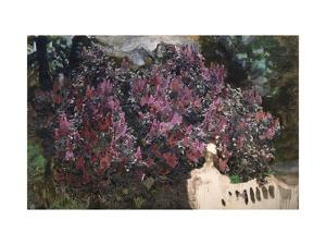 Lilacs by Mikhail Alexandrovich Vrubel