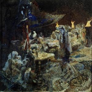 Oriental Fairy Tale by Mikhail Alexandrovich Vrubel