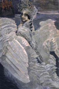 Princess Swan, 1900 by Mikhail Alexandrovich Vrubel