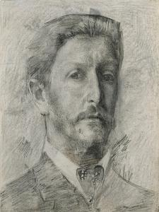 Self-Portrait, 1904-1905 by Mikhail Alexandrovich Vrubel