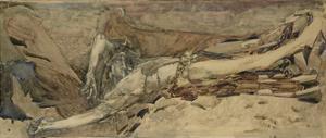The Demon Downcast, 1901 by Mikhail Alexandrovich Vrubel