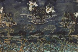 Water Lilies by Mikhail Alexandrovich Vrubel