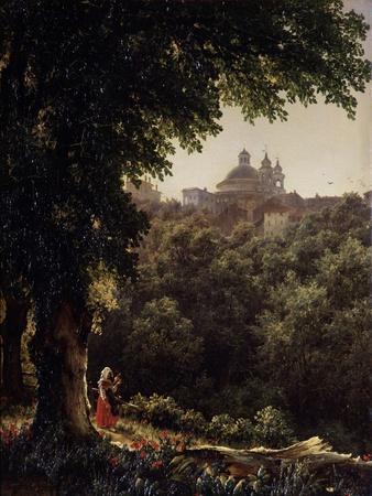 Ariccia Near Rome, 1836