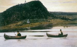 Silence, 1903 by Mikhail Vasilievich Nesterov
