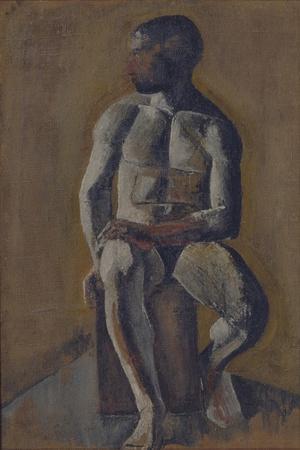 Portrait of Kirill Zdanevich (1892-196), 1910S