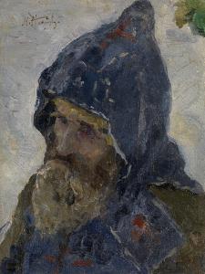 Saint Sergius of Radonezh by Mikhail Vasilyevich Nesterov
