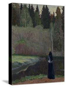 The Nightingale Is Singing, 1918 by Mikhail Vasilyevich Nesterov