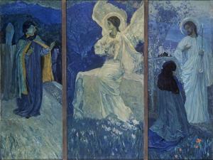 The Resurrection by Mikhail Vasilyevich Nesterov