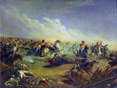 The Guard Hussars Attacking Near Warsaw on August 26Th, 1831, 1837