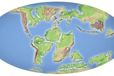 Continental Drift, 100 Million Years Ago