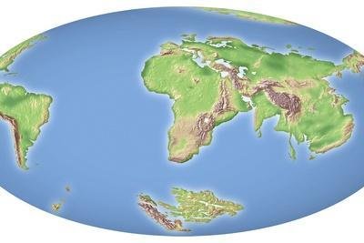 Continental Drift After 100 Million Years