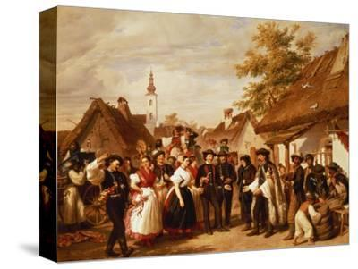 The Arrival of the Bride, 1856