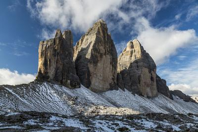 Europe, Italy, Alps, Dolomites, Mountains, Tre Cime di Lavaredo