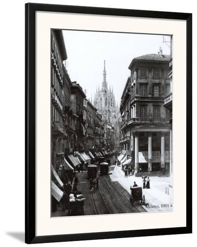 Milan, 1901--Framed Art Print