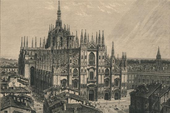 'Milan Cathedral', 1873-Unknown-Giclee Print