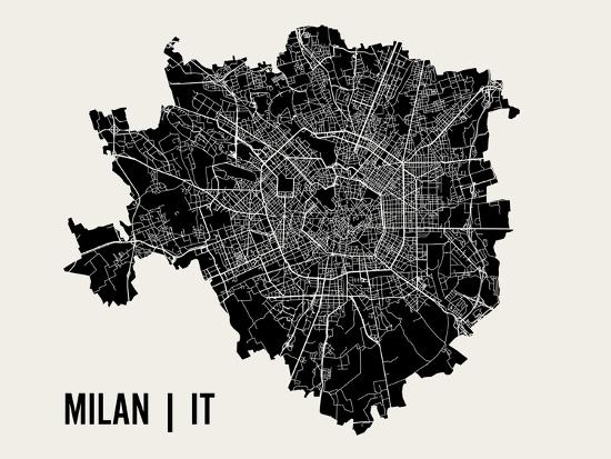 Milan-Mr City Printing-Art Print