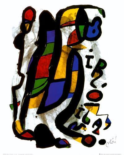 Milano-Joan Mir?-Art Print