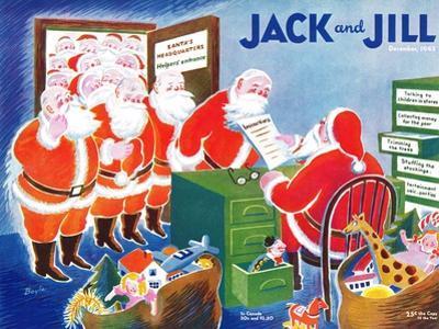 Santa's Helpers - Jack and Jill, December 1942