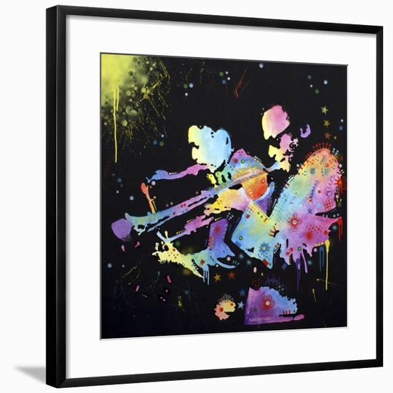 Miles Coltrane-Dean Russo-Framed Giclee Print