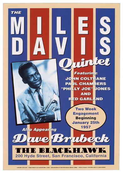Miles Davis, 1957-Unknown-Art Print