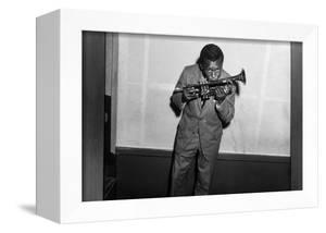 Miles Davis Kissing Trumpet
