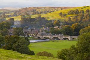 Burnsall, Yorkshire Dales National Park, Yorkshire, England, United Kingdom, Europe by Miles Ertman