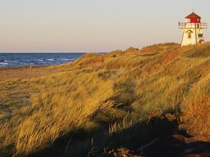 Cove Head Lighthouse, Prince Edward Island National Park, Prince Edward Island, Canada by Miles Ertman