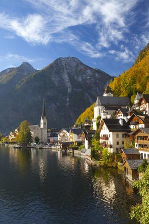 Hallstatt, UNESCO World Heritage Site, Salzkammergut, Austria, Europe by Miles Ertman