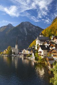 Hallstatt, UNESCO World Heritage Site, Salzkammergut, Austria, Europe by Miles Ertman