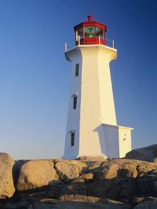 Peggy's Cove Lighthouse, Peggy's Cove, Nova Scotia, Canada by Miles Ertman