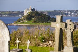 St. Michael's Mount, Cornwall, England, United Kingdom, Europe by Miles Ertman