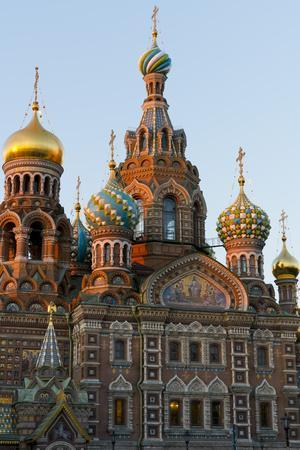 The Church on the Spilled Blood, UNESCO World Heritage Site, St. Petersburg, Russia, Europe