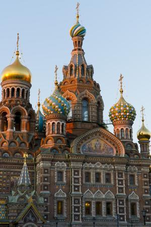 The Church on the Spilled Blood, UNESCO World Heritage Site, St. Petersburg, Russia, Europe by Miles Ertman