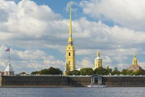The Peter and Paul Fortress, UNESCO World Heritage Site, St. Petersburg, Russia, Europe by Miles Ertman