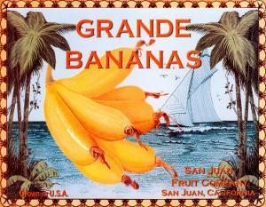 Grande Bananas by Miles Graff