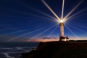 Lighting of the Lens by Miles Morgan