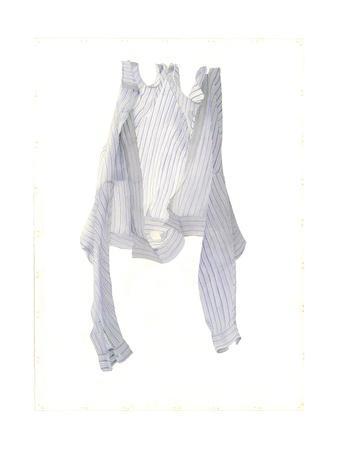 Stripy Blue Shirt in a Breeze, 2004