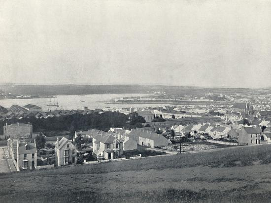 'Milford Haven - General View of the Town and the Haven', 1895-Unknown-Photographic Print