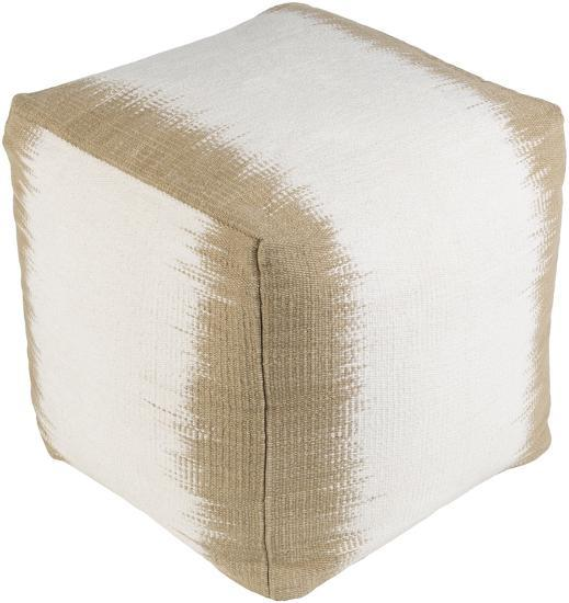 Milford Pouf - Camel/Ivory--Home Accessories
