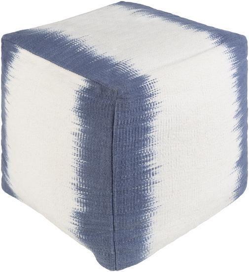 Milford Pouf - Navy/Ivory--Home Accessories