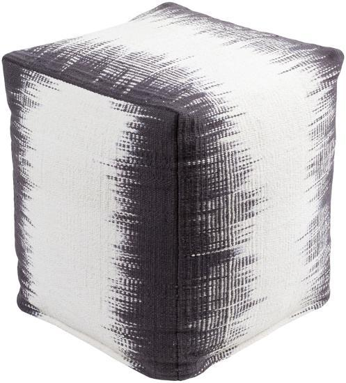 Milford Pouf - Purple/Ivory--Home Accessories