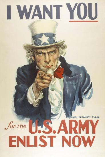 Military And War Posters I Want You For The U S Army James Montgomery Flagg Art Print Art Com