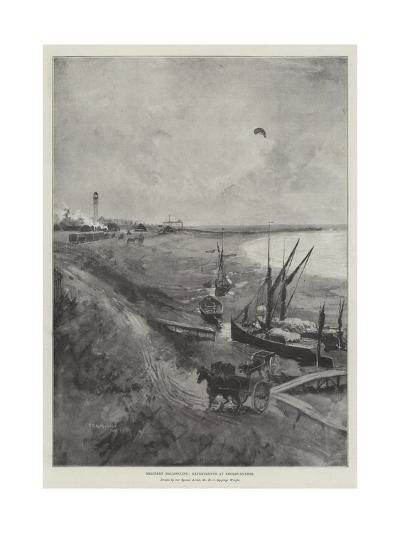 Military Ballooning, Experiments at Shoeburyness-Henry Charles Seppings Wright-Giclee Print