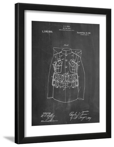 Military Coat Patent--Framed Art Print